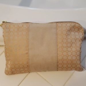 Bulgari Cosmetic Pouch with products
